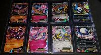 Pokemon Cards 8 Ultra Rare HOLO Mega EX Cards Ultimate Promo Collection!