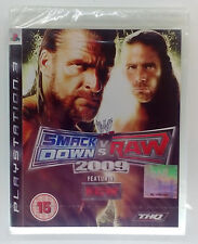 WWE SMACK DOWN VS RAW 2009 PS3 PLAYSTATION 3 THREE PAL BRAND NEW & SEALED
