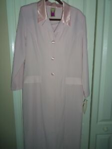 NWT~Antthony Design Originals~MED~Pink TUXEDO Pant Suit Wedding Formal Bridal