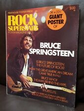 "Bruce Springsteen Penthouse Poster Press Rock Superstars Large POSTER 36"" X 22"""