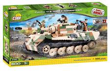 Cobi 2480-small army-WWII dt. Tiger II PzKpfw Vib rey Tiger-nuevo