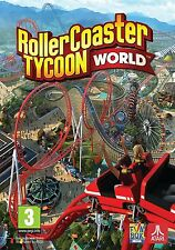 Rollercoaster Tycoon World Brand New Factory Sealed Roller Coaster NEWEST VERSIO