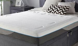 Aspire Beds Signature Bamboo Memory Pocket Spring Mattress 5 Year Warranty 20cm