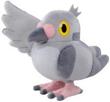 "REAL NEW Takaratomy Pokemon Go Plus 7"" Mamepato/Pidove N-07 Stuffed Plush Doll"