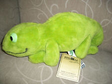 STEINER Plush Stuffed Gecko Lizard - Made in Germany - New with Tag