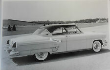 "1954 Lincoln Capri 2 door hardtop 12 By 18"" Black & White Picture"