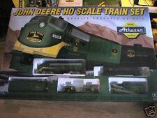 1997 ATHEARN JOHN DEERE HO SCALE (5 PIECE)TRAIN SET.MIB