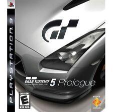 Gran Turismo 5 (GT5) Prologue PlayStation 3 (PS3)