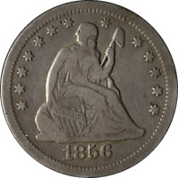 1856-O Seated Liberty Quarter Great Deals From The Executive Coin - BBQE2044