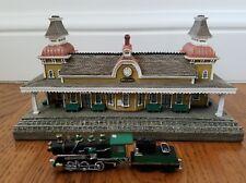 1993 Danbury Mint The North Conway, New Hampshire Railroad Station Coa/Box Mint