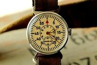 Pobeda ZIM Gagarin Military Vintage Soviet Mechanical USSR Watch