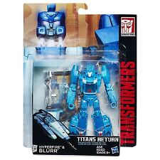 NEW HASBRO TRANSFORMERS TITANS RETURN DELUXE CLASS HYPERFIRE AND BLURR B7026