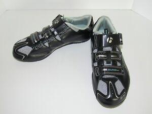 Bontrager Inform Black & Teal Cycling Shoes Solstice Women's Size 7.5 EUR 39