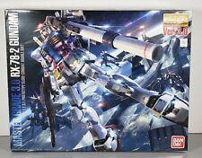 "Bandai 1/100 Mg ""Rx-78-2 Gundam Ver. 3.0"" Plastic Model Kit #183655"