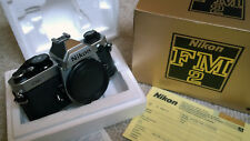 New listing Nikon 'Fm2n' Pro. Choice Camera Body, Silver Finish. 'New Other' Boxed Condition