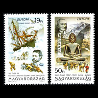 Hungary 1994 - EUROPA Stamps - Great Discoveries and Inventions - Sc 3430/1 MNH
