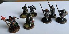 Warhammer LOTR Metal Mordor Orc Collection Captain Banner Shaman Bowmen Morannon