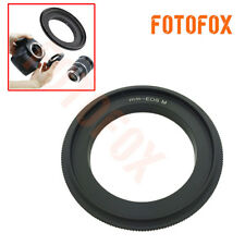 52mm Macro Reverse Adapter Ring for Canon EOS M M2 EF-M mount mirrorless camera
