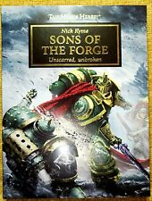 """Black Library, Horus Heresy, Sons of The Forge """"Limited Edition"""" by Nick Kyme"""