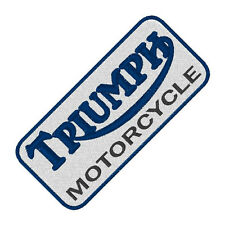 Rally-Racing Fan aufnäher  Triumph  ca 10x4,5  cm