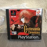 CastleVania Chronicles Konami Sony Playstation PS One PS1 PSX PAL Tested