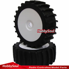 2pcs RC 1/8 Paddles Tire Snow Sand Tyre & Wheel For Redcat HPI HSP 1:8 buggy Car
