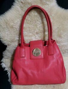 Kate Spade Pink  Leather Shoulder Bag Purse $358