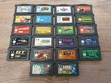 Job Lot Bundle of 22 x Nintendo Game Boy Advance Games (Official / Genuine)