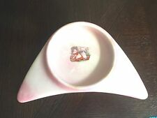 Antique 1912 Underwood's High Chair Baby Plate Two Girls Hanging Wash