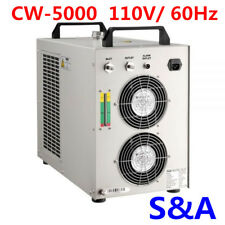 S&A 110V CW-5000 Industrial Water Chiller for 5KW Spindle / Wood Carving Machine