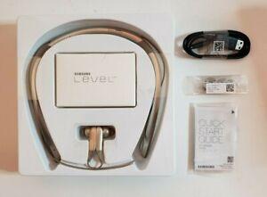 NEW Samsung Level U PRO Wireless Headphones W/ Ultra High Quality Audio - Bronze