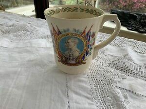 George VI - Queen Elizabeth Coronation Royal Doulton mug 1937