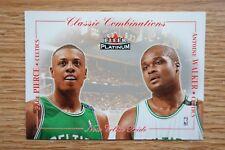 2001-02 Fleer Platinum Classic Combinations #12 Antoine Walker/Paul Pierce