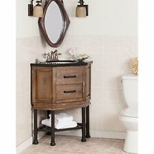 Sei Bainbridge Corner Bath Vanity Sink With Granite Top