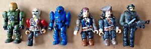 Mega Blok Lot w/Mini Figures - Halo, Pirates of the Caribbean, Bricks and more!