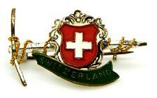 Spilla Montagna - Picozza Switzerland cm 3,5 x 2,2