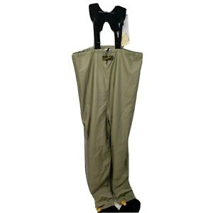 Cabela's Dry-Plus Fly Fishing Neoprene Stocking Foot Chest Waders Sz XLS 11- NWT