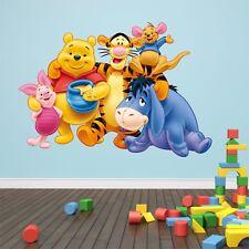 Winnie The Pooh Kids Bedroom Vinyl Decal Wall Art Sticker Part 45