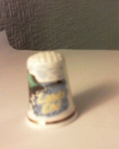 Collectors' Cottage Thimbles ~ Lands End ~ Made in Penzance