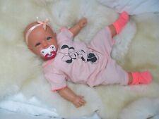ninisingen Reborn Reallife Mila Rebornbaby Puppe Babypuppe Baby Künstlerpuppe