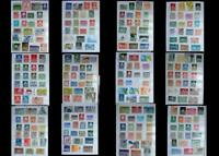 Stamp Collection From The Netherlands & Curacao, Free Shipping Worldwide