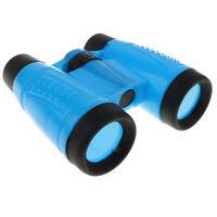 Kids Binoculars Telescope Toy For Bird Watching Camping Outdoor Game Blue