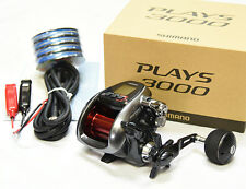 2016 NEW Shimano PLAYS 3000 With PE Line #8(80lb)-200m Electric Reel From Japan
