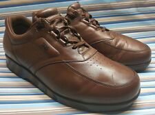 SAS TIME OUT CASUAL OXFORDS BROWN LEATHER MENS SHOES 13 M
