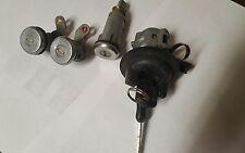 Ignition Cylinder + w/ 2 keys Door Lock Cylinder Trunk Lock Cylinder Auto Trans