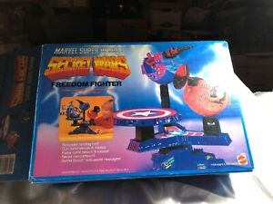 Freedom Fighter 1984 Secret Wars Playset MARVEL SUPER HEROES NEW In Opened Box♾