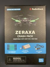 Lot of 10 RS Zeraxa Drone Crash Pack A & B Propellers USB Chg Cable Battery