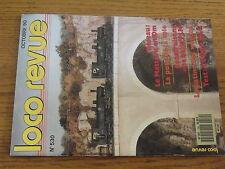 $$u Loco-Revue N°530 Mastrou  pose de la voie  halle PLM  patine wagons  CC 1100