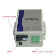 RS-422 Data Optical Extenders Transmitter Receiver Data over Fiber S/M 20Km