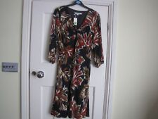"""BODEN DRESS LONG SLEEVE FULLY LINED SIZE 12R 40"""" LONG"""